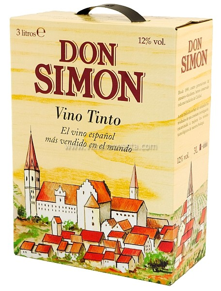 Don Simon Vino Tinto 12% 300cl BIB