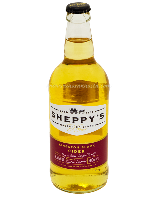 Sheppys Kingston Black Cider 6,5% 50cl